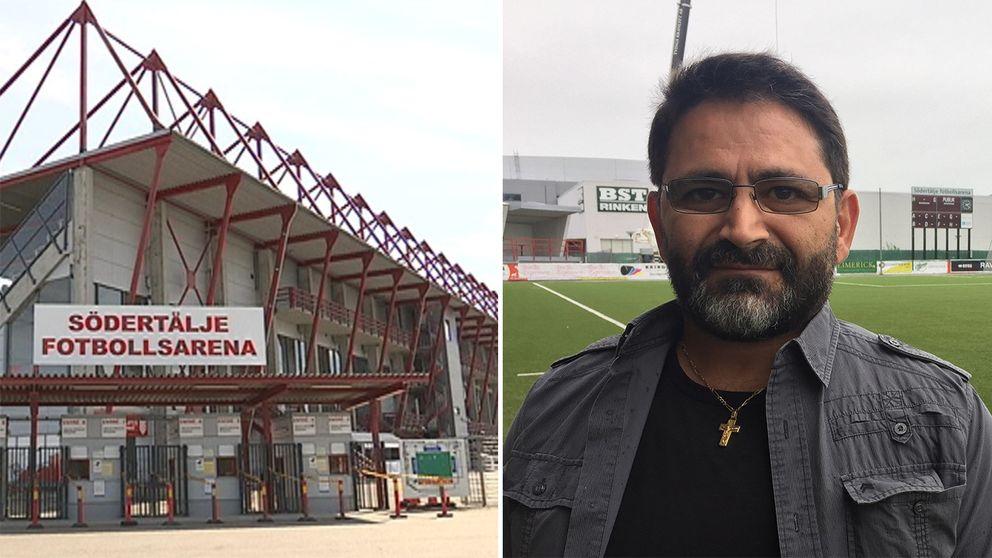 Ghayath Moro. Syrianska. Fotboll. Superettan.