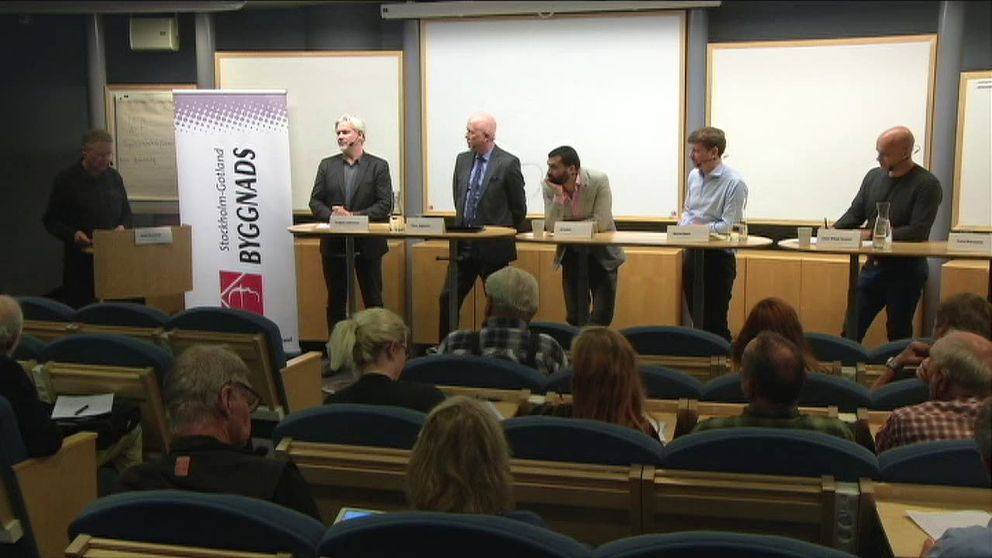 Diskussion om kollektivavtal, den svenska modellen och EU:s fria rörlighet. Arrangör: Byggnads Stockholm-Gotland. Från 31/5