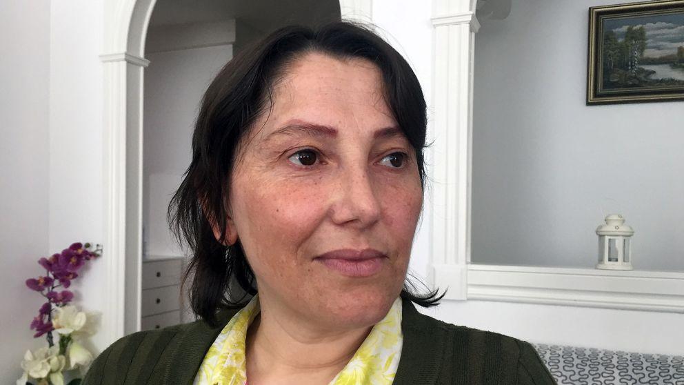 Yalda Johansson är polioskadad och arbetade som lokalvårdare.