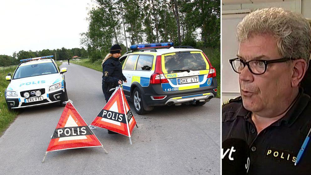 Polisbilar och polis