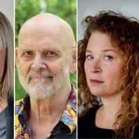 Börje Ahlstedt, Ella Lemhagen, Jan Lööf och Stina Wirsén