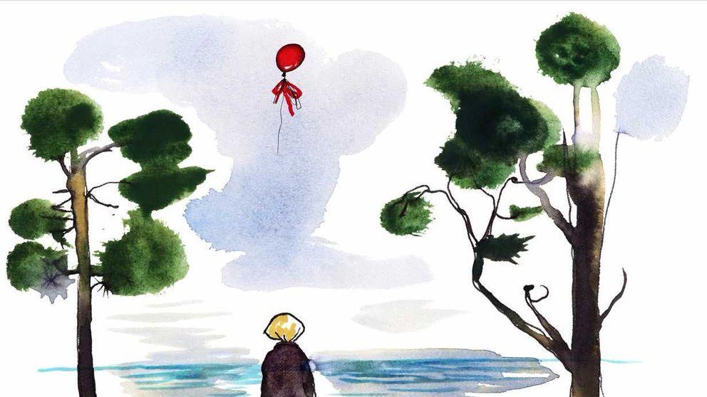 """Stina Wirsén: Bilden som jag bifogar kommer från """"Systern från havet"""", en pjäs och en bok på temat barn på flykt ( utspelar sig under finska vinterkriget men är smärtsamt aktuell)"""