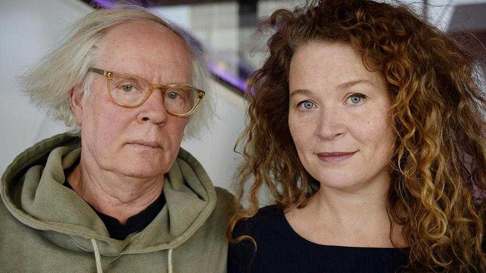 Författaren Ulf Stark, illustratören Stina Wirsén.