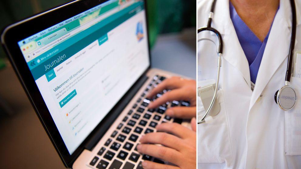 Dataintrång, läkare