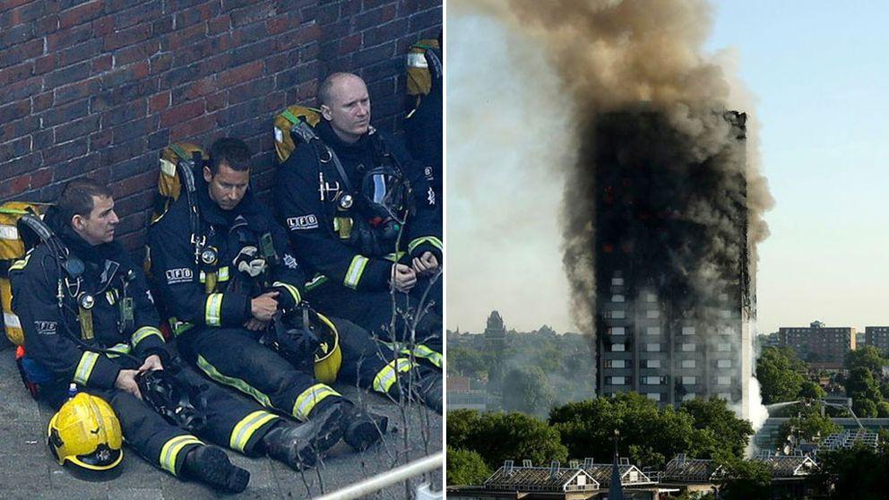 17 personer bekräftade döda efter branden