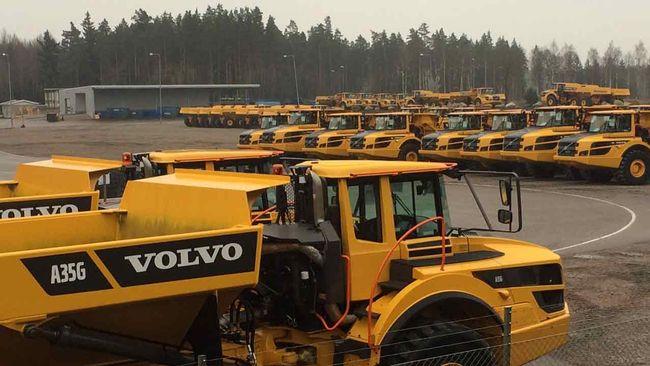Samtliga anställda på Volvo i Braås permitteras