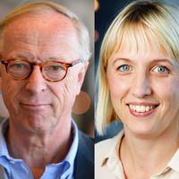 EU-parlamentarikerna Bodil Valero (MP), Gunnar Hökmark (M) och Jytte Guteland (S)