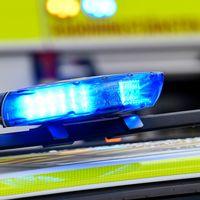 Polis med siréner