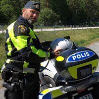 Petter Wahllöf, gruppchef på trafikpolisen i Karlskrona.