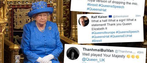 Drottningen av Storbritannien Elizabeth II.