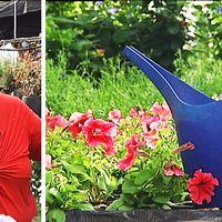 Elise Van der Veer driver handelsträdgård i Bergerud