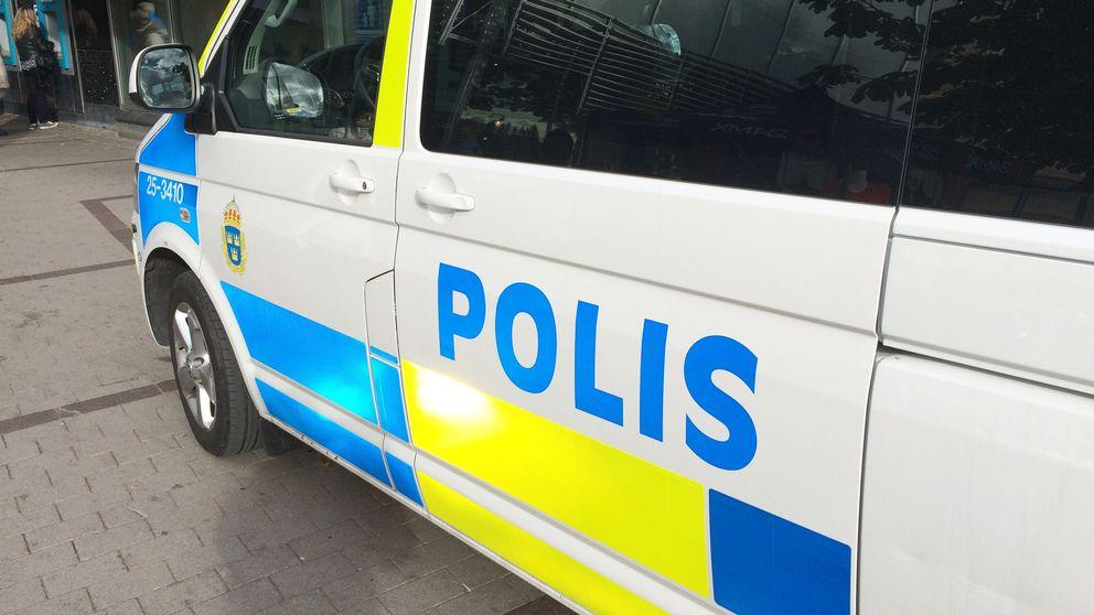 En polisbild från sidan.