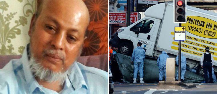 51-årige Makram Ali föll offer för den misstänkte terroristen Darren Osborne.