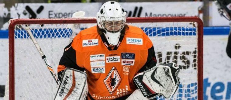 Karlskronamålvakt historisk – blev NHL-draftad