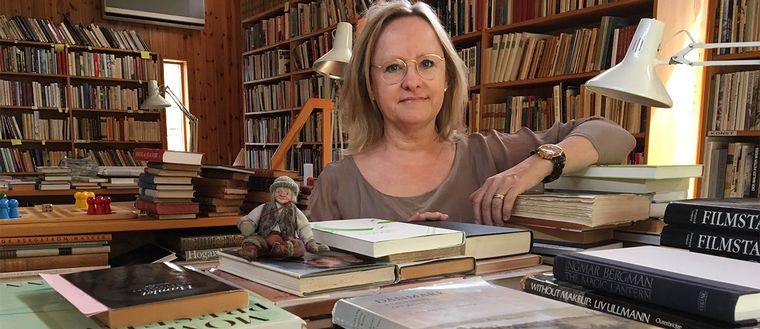 Erica Norman Arver ingmar bergman bibliotek fårö