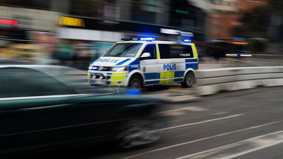 En man rånades av fyra personer i Arvika under natten mot onsdagen. Genrebild.