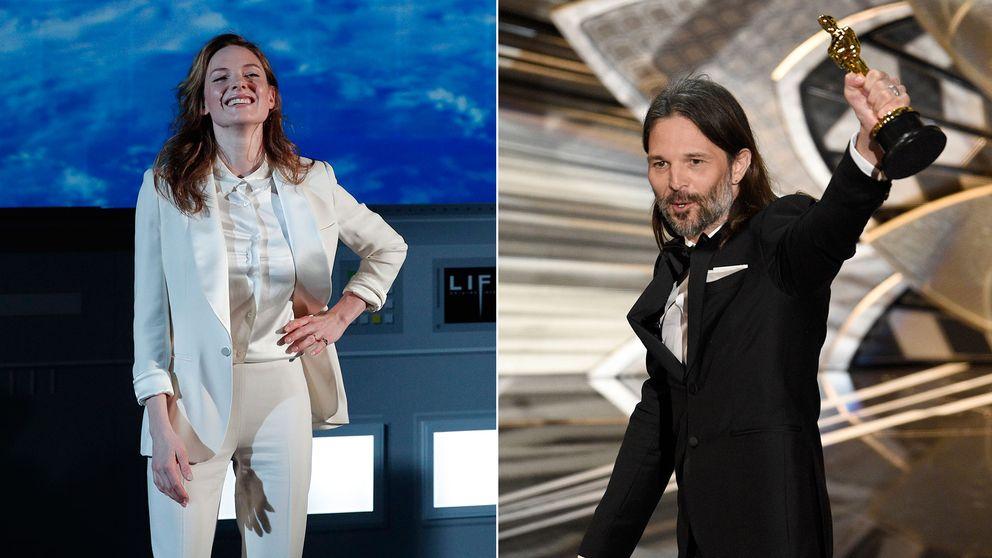 Rebecca Ferguson och Linus Sandgren är två av Oscarsakademins nya medlemmar.