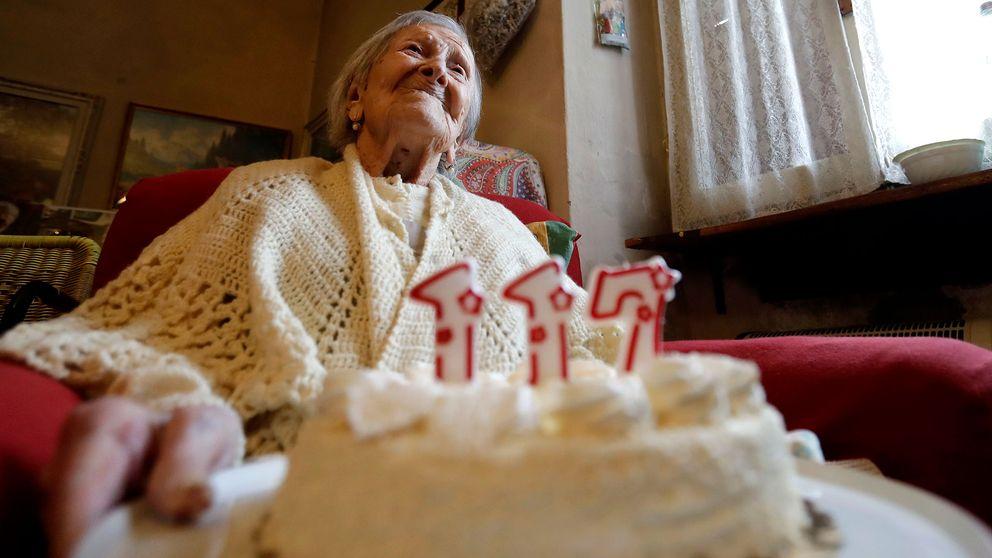Världens hittills äldsta människa Emma Morano blev 117 år. Hon avled i april i år.
