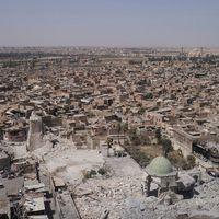 Irakiska styrkor säger sig ha intagit den förstörda al-Nurimoskén i Mosul från IS.