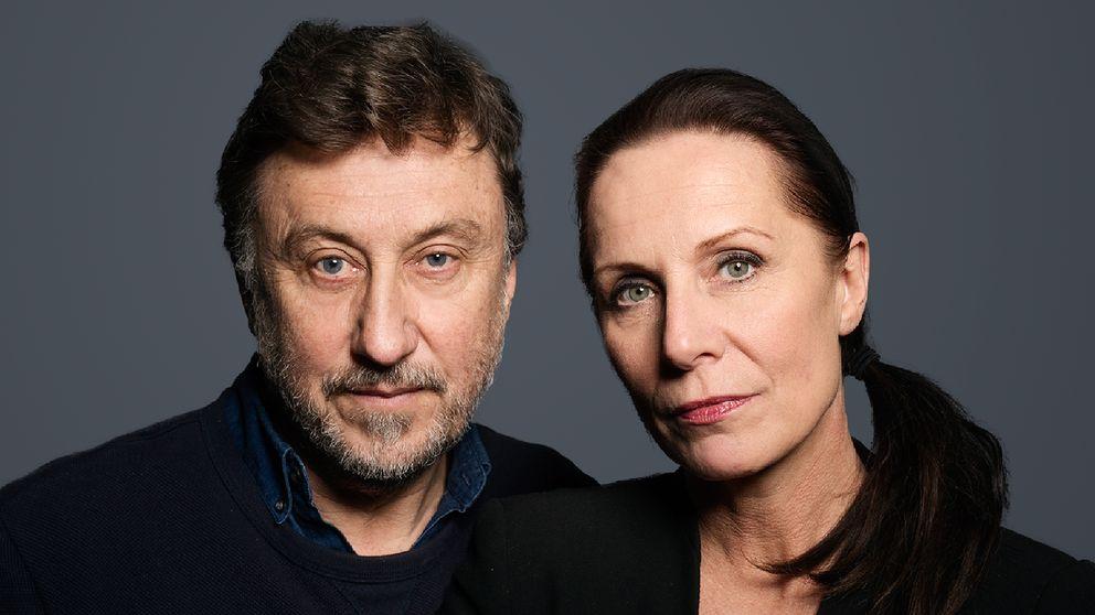 Janne Josefsson och Karin Mattisson