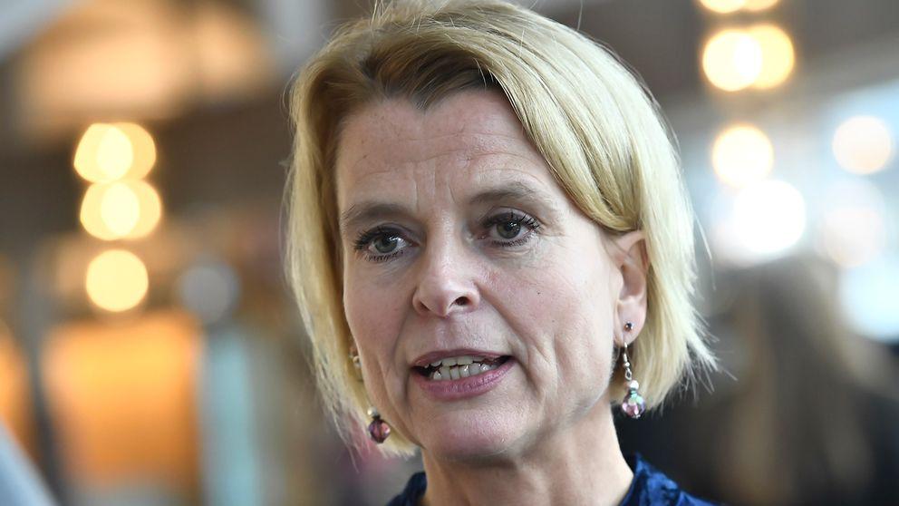 Jämställdhetsminister Åsa Regner.
