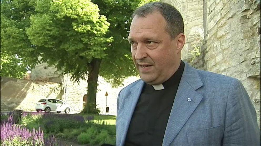 Blivande jesuitprästen Thomas Idergard.