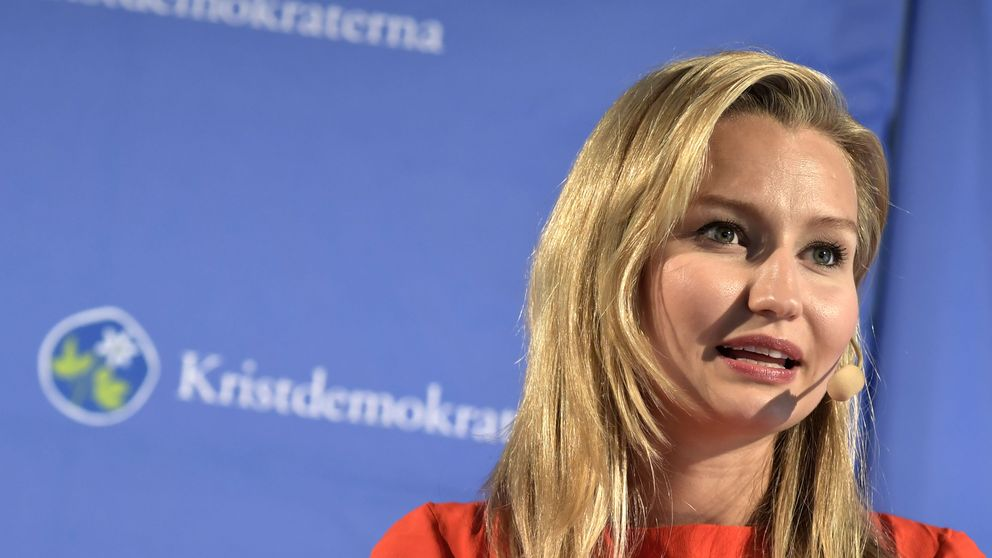 Kristdemokraternas partiledare Ebba Busch Thor