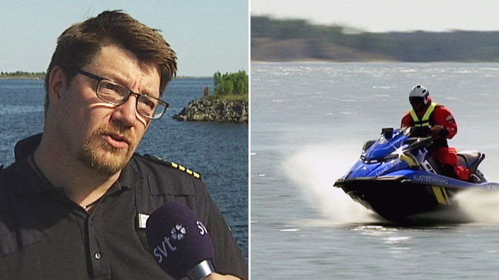 Peter Johansson, stationschef på Kustbevakningen i Umeå.