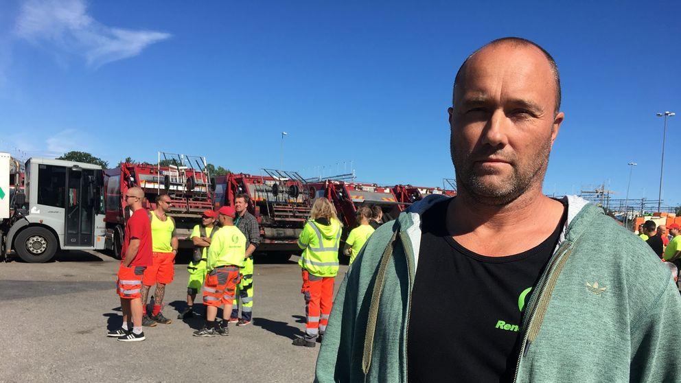 peter Börjesson, renhållare.