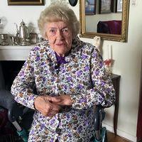 95-åriga Britt Pahlin