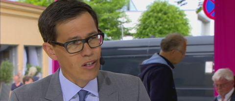 SVT:s politikreporter Love Benigh