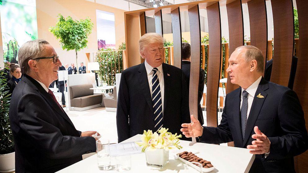 Vladimir Putin och Donald Trump.