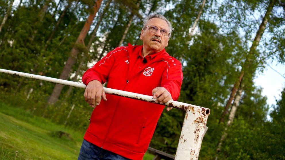 Arne Lövdin har stått här i 70 år.