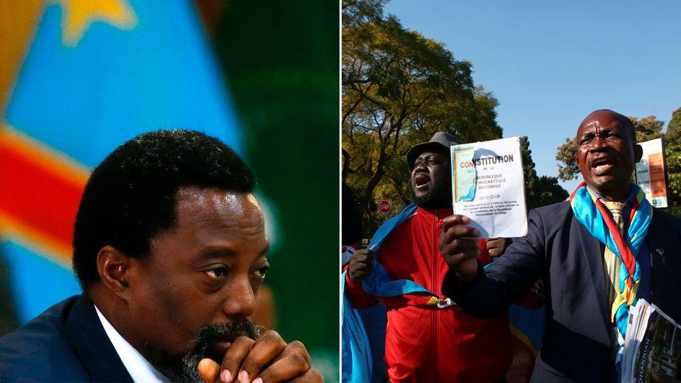 Kongo-Kinshasas president Joseph Kabila tycks hålla sig kvar vid makten i landet.