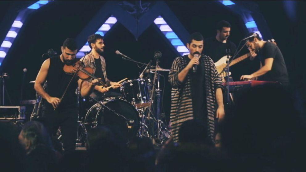 Det libanesiska rockbandet Mashrou' Leila