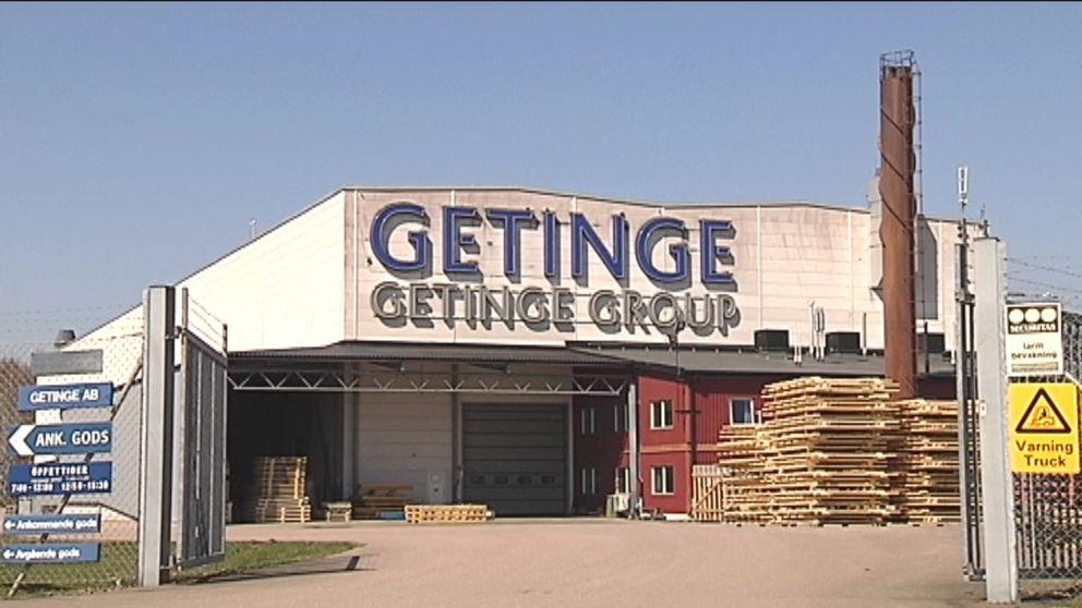 Getinges vinst för årets andra kvartal var väsentligt mindre än samma period förra året.