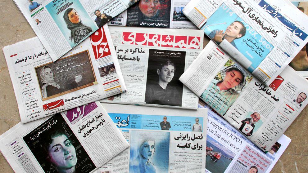 Iranska tidningar