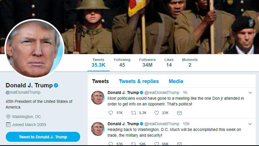 Donald Trumps Twitterkonto