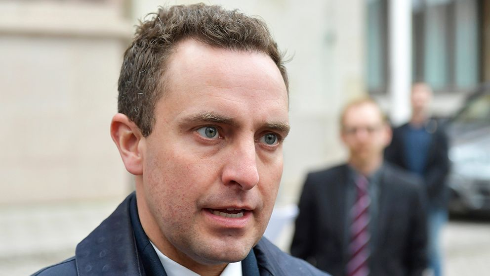 Tomas Tobé (M), ordförande i riksdagens justitieutskott.