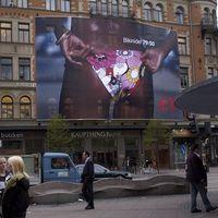 Bild på reklamtavla