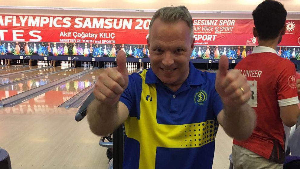 Pierre Hjalmarsson bäste svensk i bowling