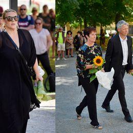 Sarah Dawn Finer, Mona Sahlin och Jens Orback samt Ewa Fröling och Janne Schaffer.