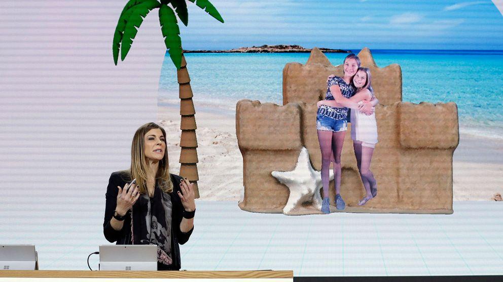 Microsoft presenterade förra året en mer avancerad efterföljare till Paint, Paint 3D. Arkivbild.