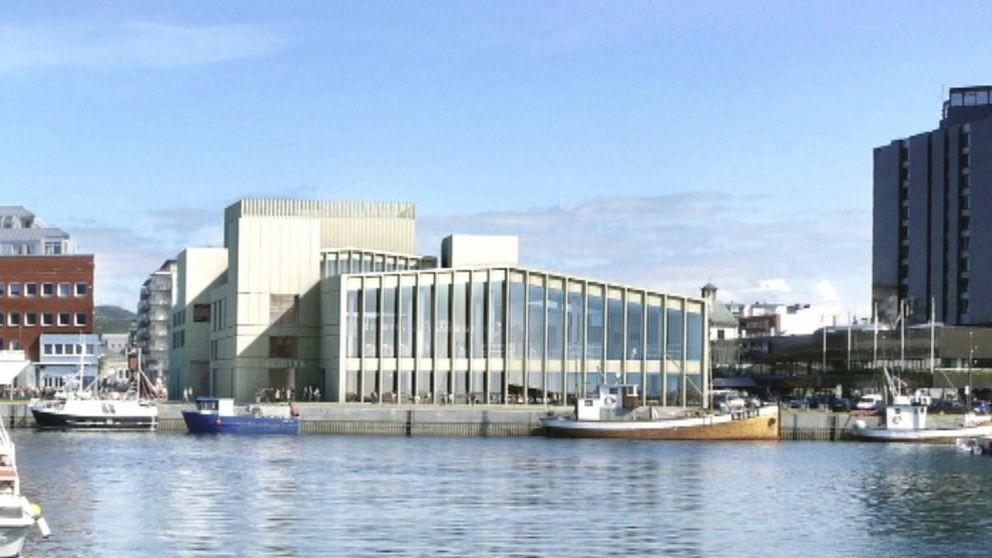 """Planerna på """"Stormen"""" i Bodö får Umeås kulturväv att blekna."""