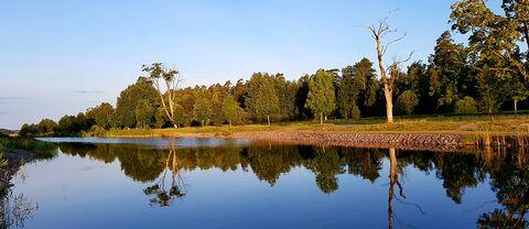 En riktigt fin morgon vid Göta Kanal i Borensberg.