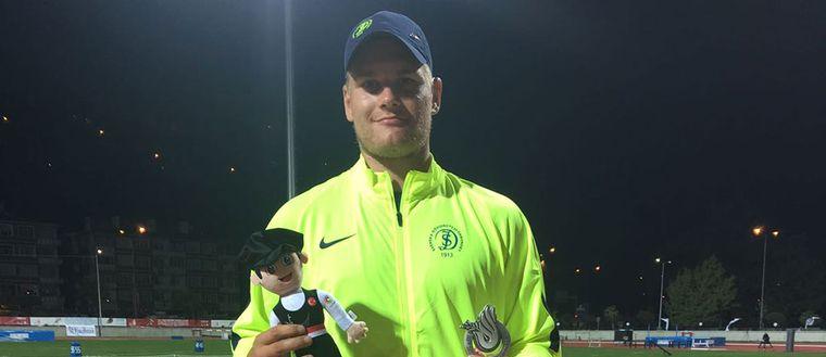 Theodor Thor tvåa i spjutfinalen