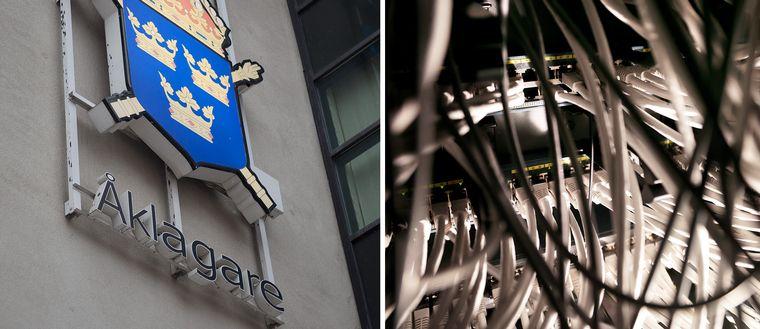 Två av Åklagarmyndighetens viktiga IT-system är utslagna till följd av ett strömavbrott i Västerås.