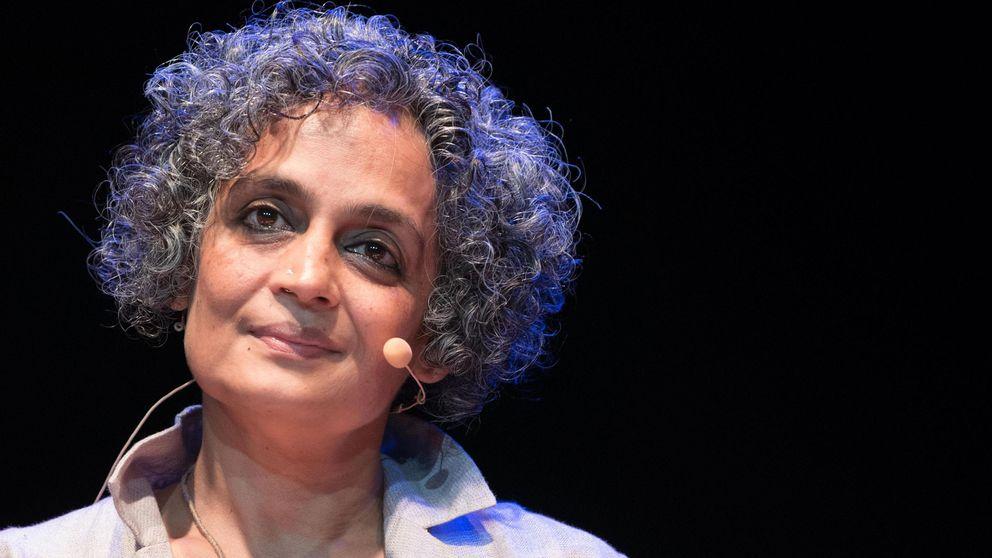 Författaren Arundhati Roy.