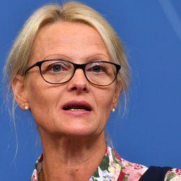 Nya migrationsministern Heléne Fritzon (S).