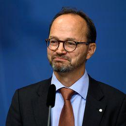 Tomas Eneroth (S) ny infrastrukturminister.